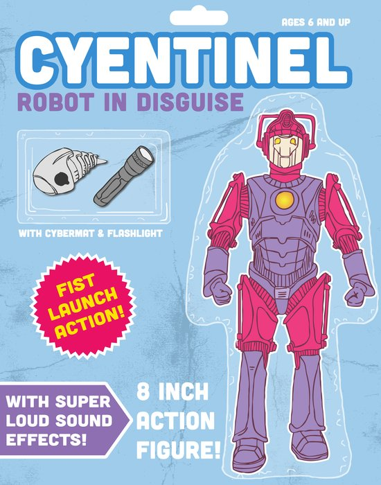 Cyentinel: Robot in Disguise  Art Print