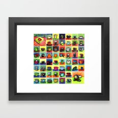 The Daily Coffee Poster Framed Art Print