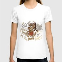 Oh My Deer (be Unique An… Womens Fitted Tee White SMALL