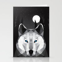 The Tundra Wolf Stationery Cards