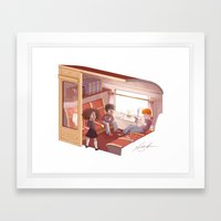 Hogwarts Express Framed Art Print
