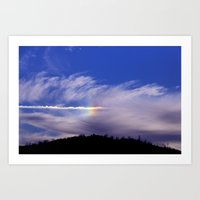 Rainbow Cloud Art Print