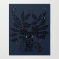 IIIIII Canvas Print