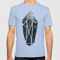 Dark Crystal Mens Fitted Tee Tri-Blue SMALL