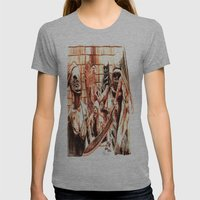 Silent Hill Womens Fitted Tee Athletic Grey SMALL
