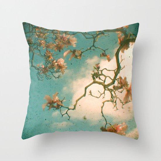Magnolia Falls Throw Pillow