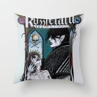 Rozzferatu - Fanart For … Throw Pillow