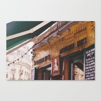 Shakespeare And Co Canvas Print