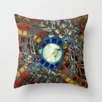 Mosaic Abstract 2 Throw Pillow