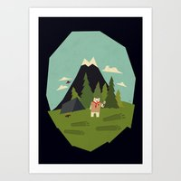 Shocking Discovery Art Print