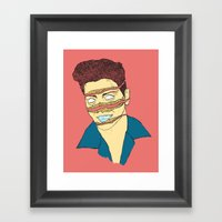 Can You Dig it? Framed Art Print