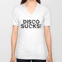 Disco Demolition Night Unisex V-Neck