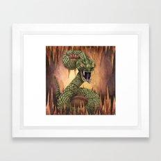 Basilisk Framed Art Print