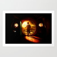 Bilbo's Journey - Painting Style Art Print