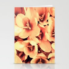 Flowers in the garden Stationery Cards