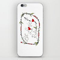 Let Love Rule iPhone & iPod Skin