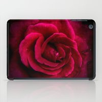Texture Of A Rose iPad Case