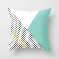 Throw Pillow featuring MINIMAL COMPLEXITY by .eg.