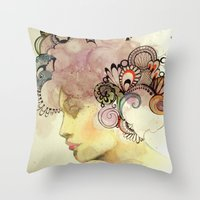 Kisses from the Sun Throw Pillow