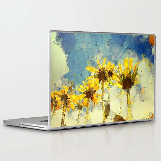 Her Thoughts Were Happy and So Was Her Life Laptop & iPad Skin