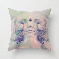 KALEIDOSCOPIC DREAMS Throw Pillow