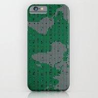 Green Map iPhone 6 Slim Case
