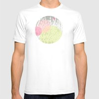 Dots//Four Mens Fitted Tee White SMALL
