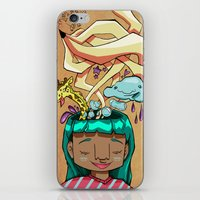 Overflowing thoughts  iPhone & iPod Skin