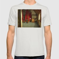 Morning Mens Fitted Tee Silver SMALL