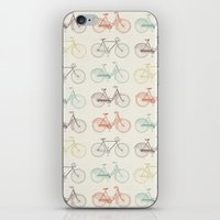 Vintage Bicycles iPhone & iPod Skin