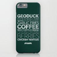 Seattle — Delicious Ci… iPhone 6 Slim Case