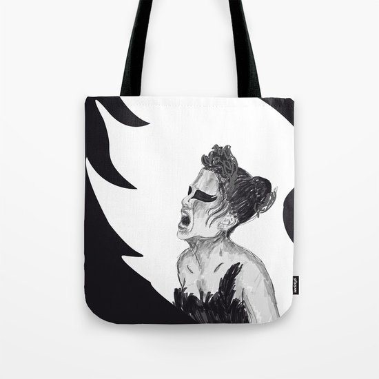Black Swan III Tote Bag