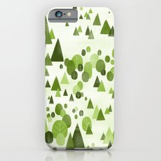 Trees in the forest iPhone 6 Slim Case