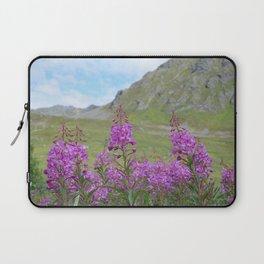 Laptop Sleeve - Hatcher Pass Fireweed - Alaskan Momma Bear