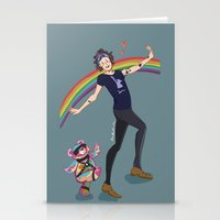 R.b Bear And Little Cupc… Stationery Cards