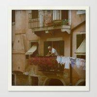 italian style Canvas Print