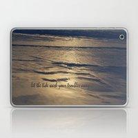 Golden Tide Laptop & iPad Skin