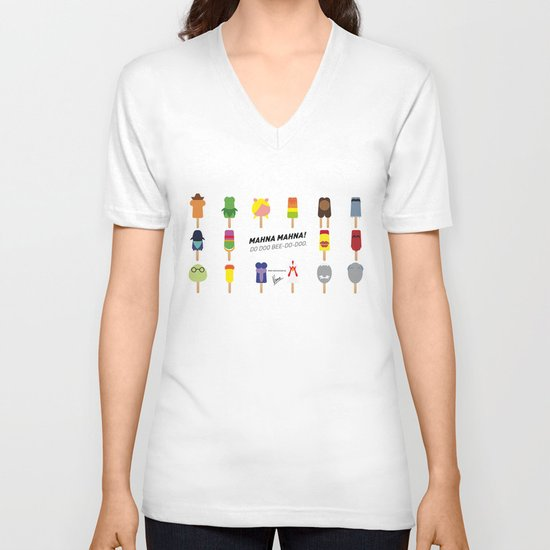 My MINIMAL ICE POPS univers III V-neck T-shirt