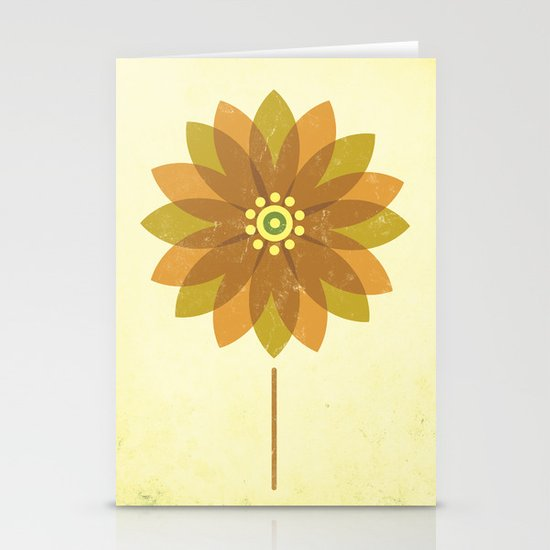 The Sunflower Stationery Card