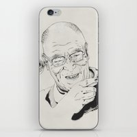 Dalai Lama iPhone & iPod Skin