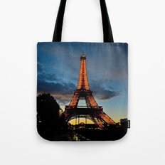 Lighting the Tower Tote Bag