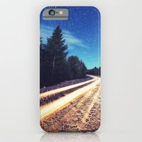 Winter Road to the Stars iPhone 6 Slim Case