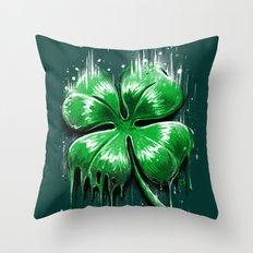 Melting Luck Throw Pillow