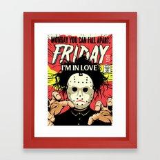 TFTS   Friday Framed Art Print