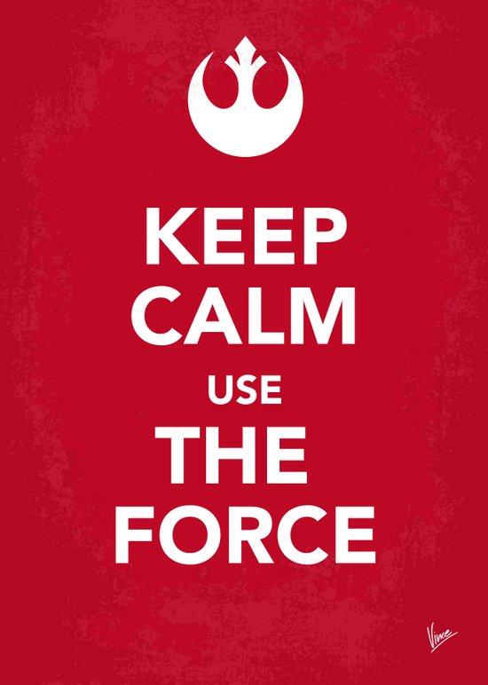 My Keep Calm Star Rebel Wars Alliance - poster Art Print