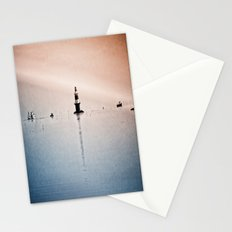Fishing Near The Lighthouse Stationery Cards