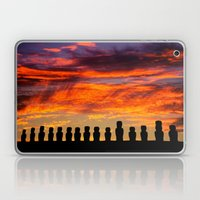 EASTER ISLAND SUNRISE Laptop & iPad Skin