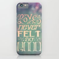 iPhone & iPod Case featuring Love Never Felt So Good by Najmah Salam