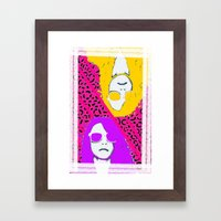 Frame the FAME - Shirane Framed Art Print