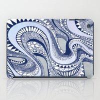 Blue Taffy iPad Case